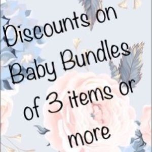 Other - Baby Bundles will receive special offer